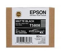 C13T580800 EPSON T5808 Картридж матово-черный