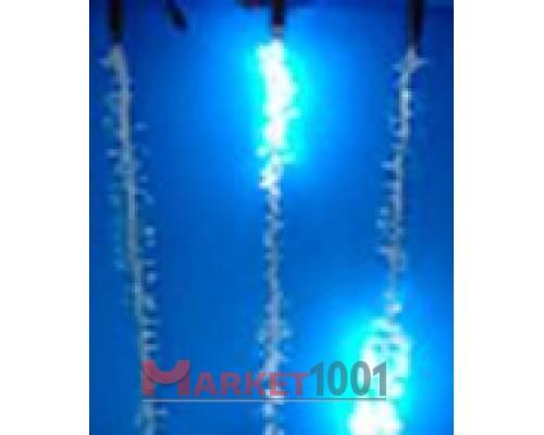 """Светодиодная (LED) гирлянда """"Ледяные капли"""" 1 метр синяя"""