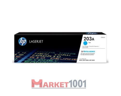 HP CF541A (203A) тонер-картридж голубой