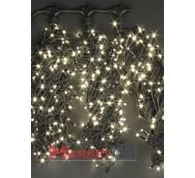 """Гирлянда на деревья Клип лайт """"Спайдер"""" 3x20 м. (LED) с контроллером цвет - теплый белый"""
