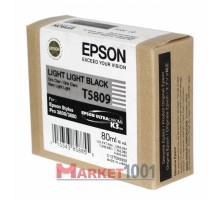 C13T580900 EPSON T5809 Картридж светло-серый