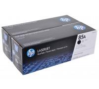 HP CE285AF (85A) тонер-картридж черный двойная упаковка