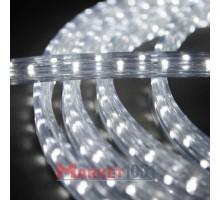 Дюралайт светодиодный плоский 3-х проводной белый