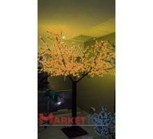 Светодиодное дерево Сакура 3,6x3 м. Мульти
