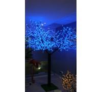 Светодиодное дерево Сакура 3,6x3 м. Синий
