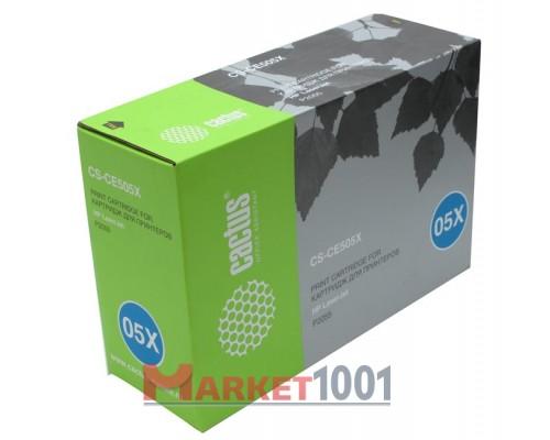 Картридж Cactus CS-CE505X / CS-CE505XS