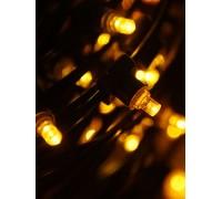 Гирлянда на деревья Клип лайт (LED) БЕЗ ТРАНСФОРМАТОРА желтая