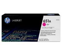 HP CE343A (651A) тонер-картридж пурпурный