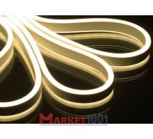 Неон флекс светодиодный гибкий белый теплый двухсторонний