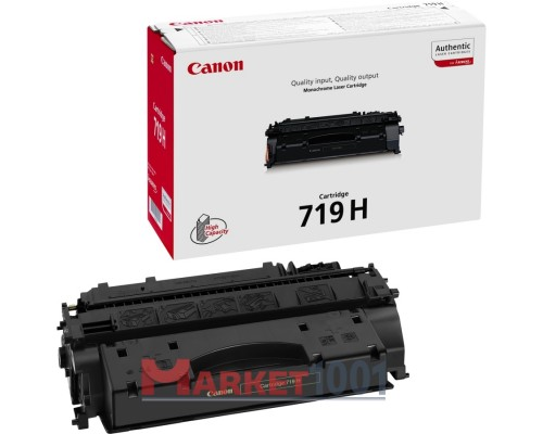 Canon 719H тонер-картридж черный 3480B002