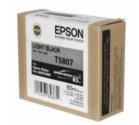 C13T580700 EPSON T5807 Картридж светло-черный