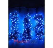 "Гирлянда на деревья Клип лайт ""Спайдер"" 3x20 м. (LED) с контроллером синяя"