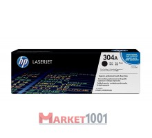 HP CC530A (304A) тонер-картридж черный
