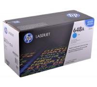 HP CE261A (648A) тонер-картридж голубой