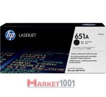 HP CE340A (651A) тонер-картридж черный