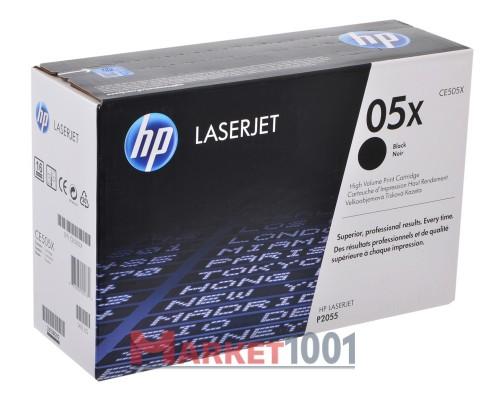 HP CE505X (05X) тонер-картридж черный