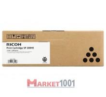 407262 RICOH SP-200HE Тонер-картридж черный