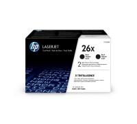HP CF226XF (26X) тонер-картридж черный двойная упаковка