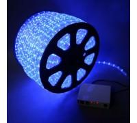 Дюралайт светодиодный круглый 2-х проводной синий