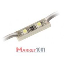 Светодиодный модуль DKB 2SMD 3528 холодный белый.