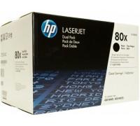 HP CF280XF / CF280XD (80X) черный двойная упаковка
