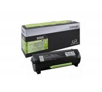 LEXMARK 50F5X00 / 50F5X0E (505XE) тонер-картридж черный