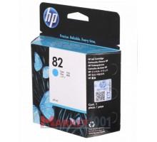 HP C4911A (№82) картридж голубой.