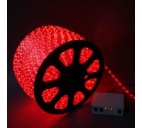 Дюралайт светодиодный круглый 2-х проводной 12V красный