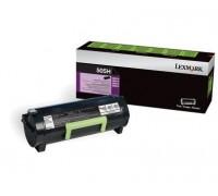 LEXMARK 50F5H00 (505H) тонер-картридж черный