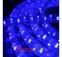 Дюралайт светодиодный плоский 3-х проводной синий