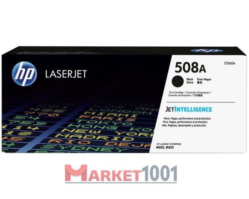 HP CF360A (508A) тонер-картридж черный