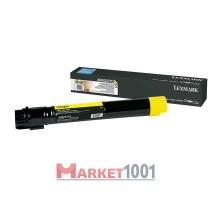 LEXMARK X950X2YG тонер-картридж желтый