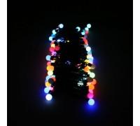"""Светодиодная (LED) гирлянда """"Шарики"""" mini RGB."""