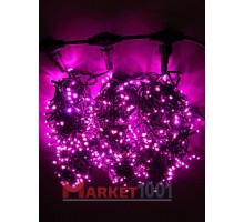 """Гирлянда на деревья Клип лайт """"Спайдер"""" 3x20 м. (LED) без контроллера розовая"""