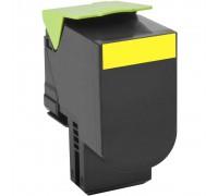 LEXMARK 80C8SY0 (808SY) тонер картридж желтый