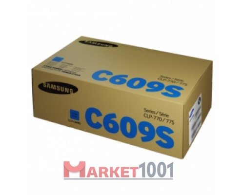 SAMSUNG CLT-C609S/SEE тонер-картридж голубой