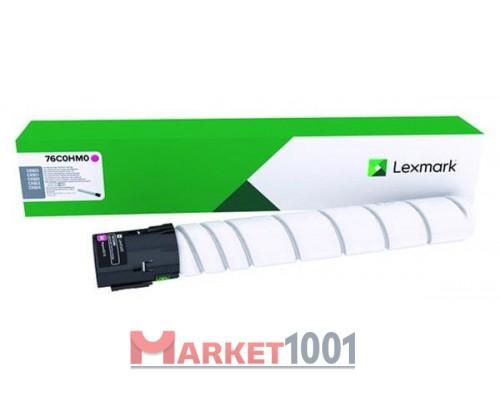 LEXMARK 76C0HM0 тонер-картридж пурпурный