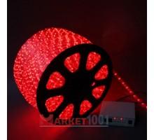 Дюралайт светодиодный круглый 3-х проводной красный