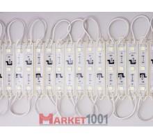 Светодиодный модуль DKB 3SMD 3528 холодный белый 47,2x15x4,5 мм .