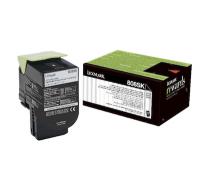 LEXMARK 80C8SK0 (808SK) тонер картридж черный