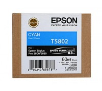 C13T580200 EPSON T5802 Картридж голубой