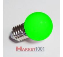 Лампа для Белт лайта 5-и диодная E27 зеленая