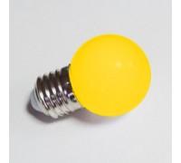 Лампа для Белт лайта 5-и диодная E27 желтая