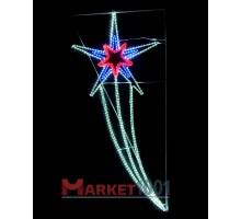 Консоль (мотив) «Звезда» подвесная 2,1х0,98 м.