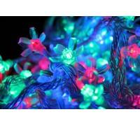 """Светодиодная (LED) гирлянда """"Цветок сакуры"""" мульти с контроллером."""