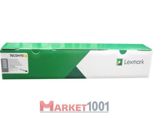 LEXMARK 76C0HY0 тонер-картридж желтый