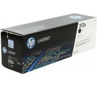 HP CF380A (312A) тонер-картридж черный