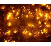 """Светодиодная (LED) гирлянда """"Криспи""""  желтая"""
