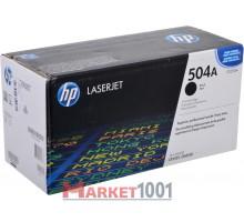 HP CE250A (504A) тонер-картридж черный