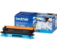 Brother TN-135C тонер-картридж голубой